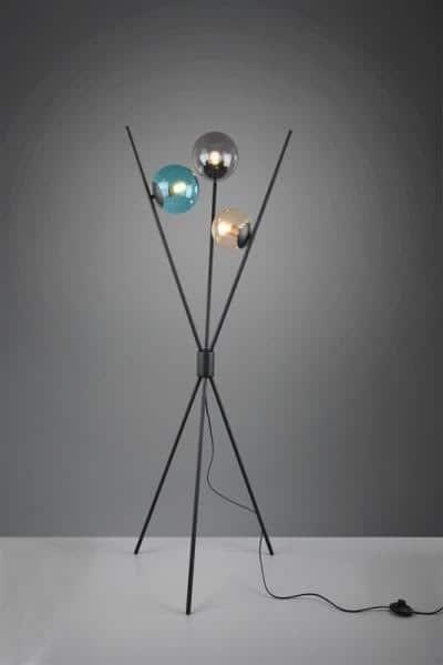 Lampa podłogowa, trójnożna