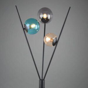Lampa podłogowa z trzema źródłami światła