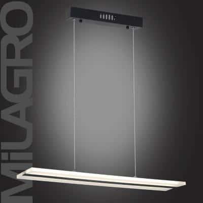 Lampa wisząca w biało-czarnej stylistyce