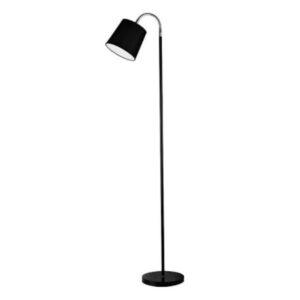Lampa podłogowa, czarna