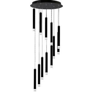 Lampa z wiszącymi elementami
