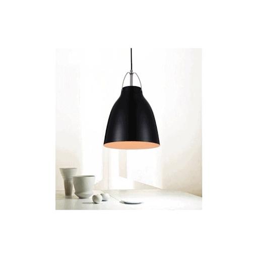 Lampa wisząca w kolorze czarnym