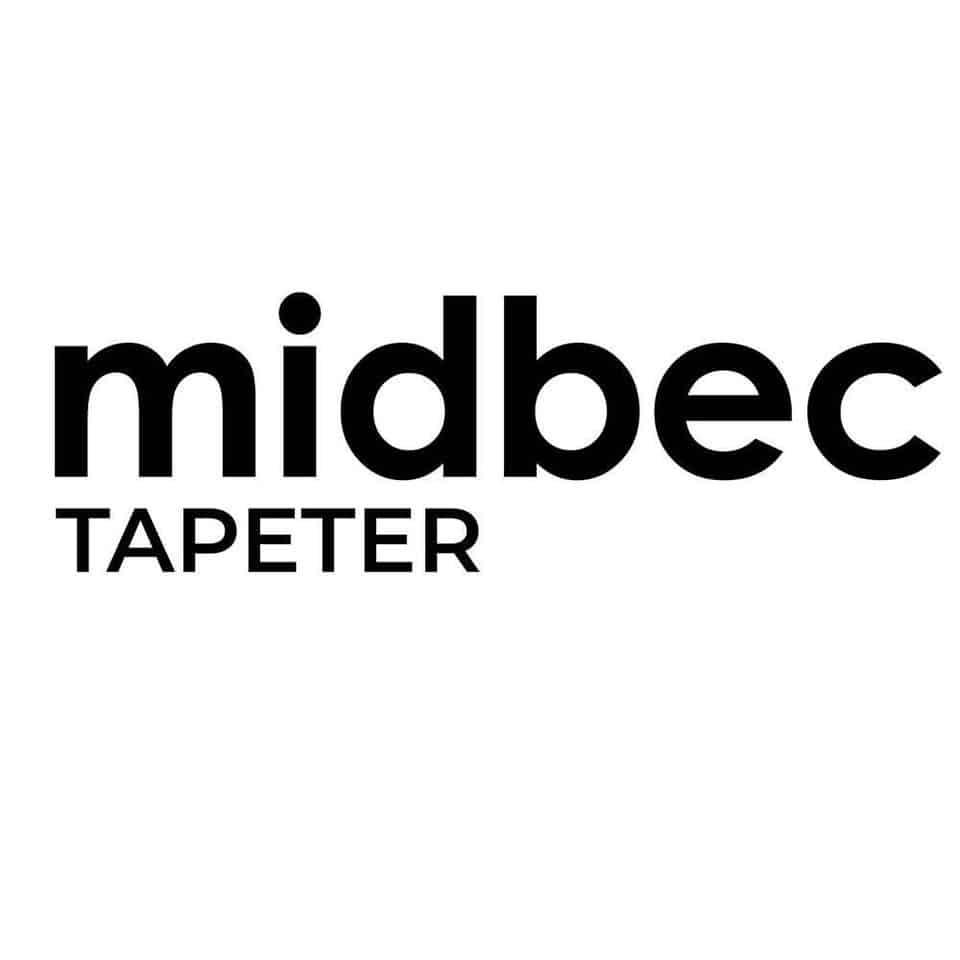 Logo midbec TAPETER